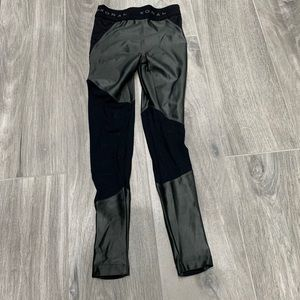Koral pewter/ mesh black legging - XS